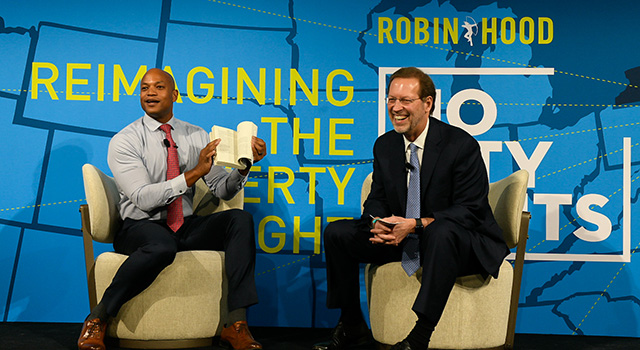 Dan Porterfield interviews Wes Moore at No City Limits 2020