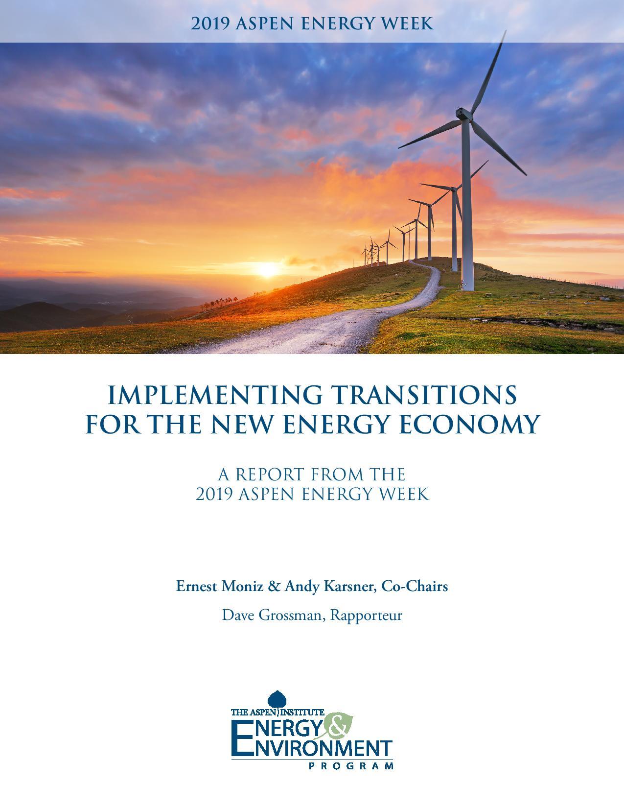 2019 Energy Week Report