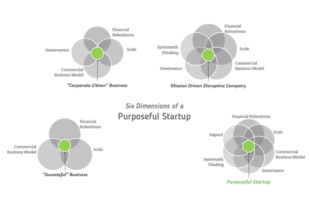Six Dimensions of a Purposeful Startup