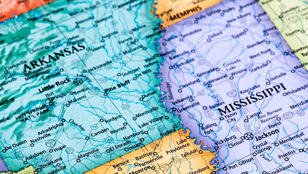 Arkansas/Mississippi Delta