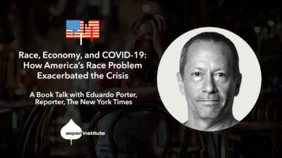 Race, Economy, and COVID-19: How America's Race Problem Exacerbated the Crisis – A Book Talk with Eduardo Porter. April 29 at 2pm ET. RSVP: as.pn/americanpoison