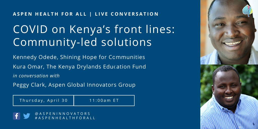 COVID on Kenya's front lines: Community-led solutions