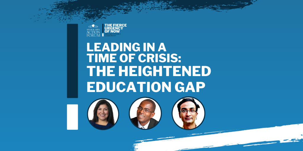 Leading in a Time of Crisis: The Heightened Education Gap
