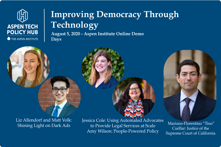 Improving Democracy Through Technology