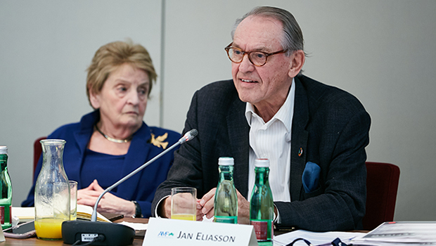 Madeleine Albright and Jan Eliasson in Conversation