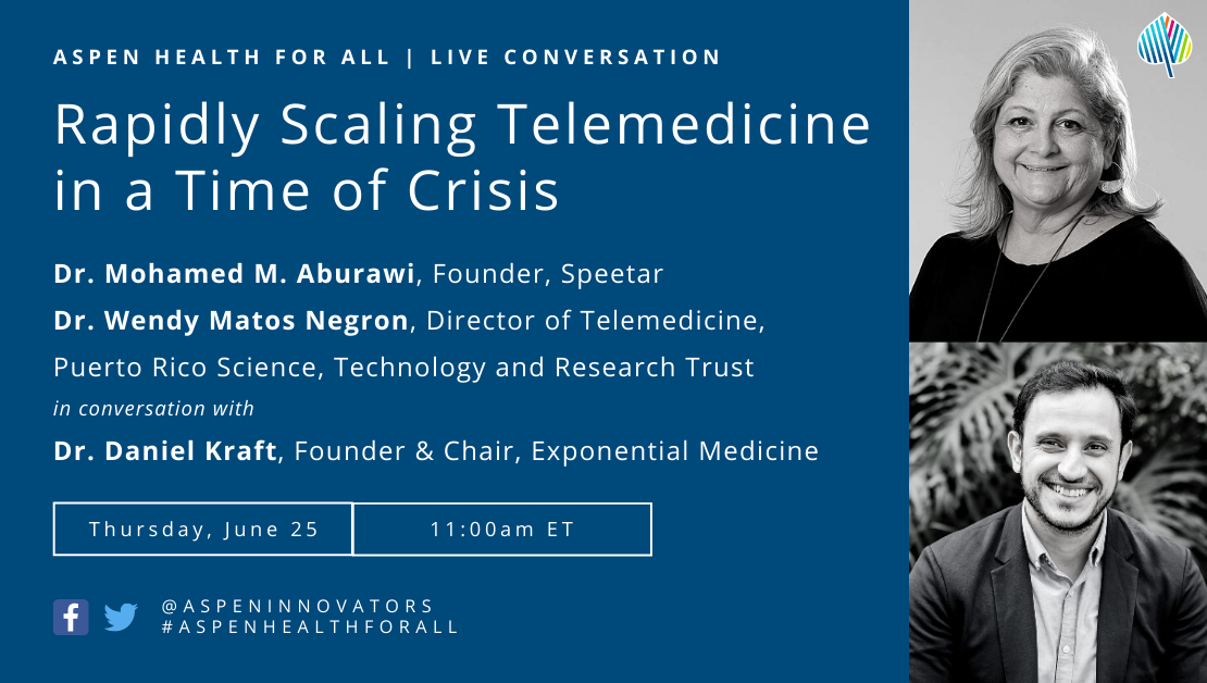 Rapidly Scaling Telemedicine in a Time of Crisis