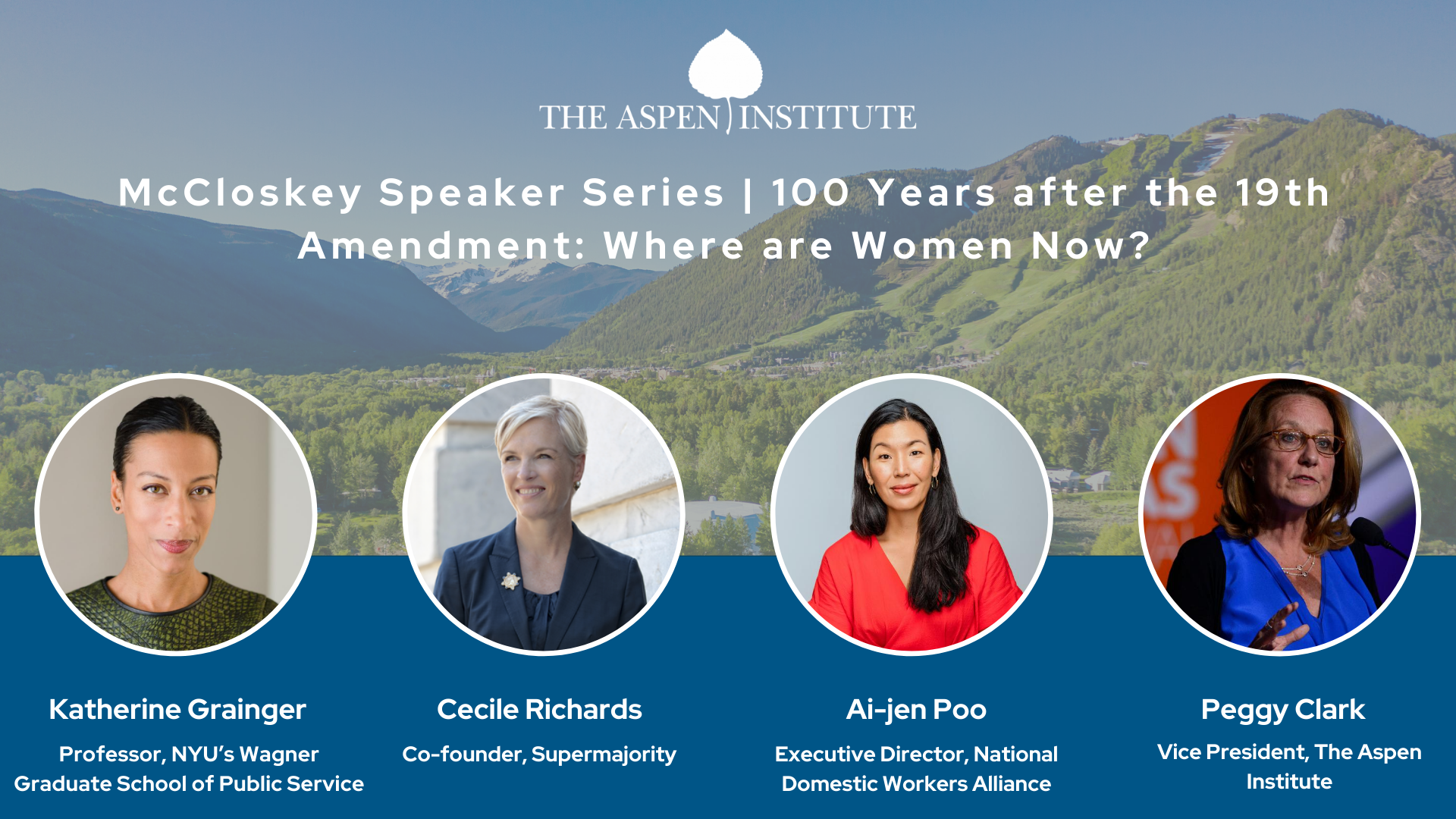 Women on the 100th Anniversary of the 19th Amendment