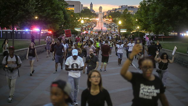 BLM protest in DC