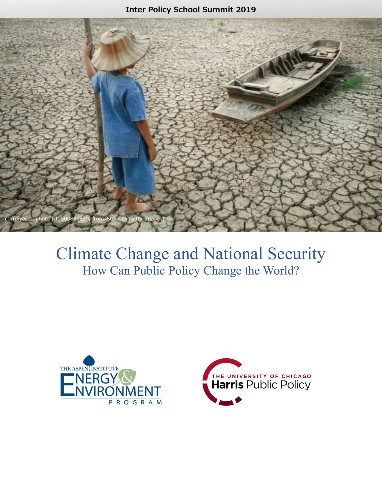 Climate Change and National Security: A Report from the 2019 Inter-Policy School Summit