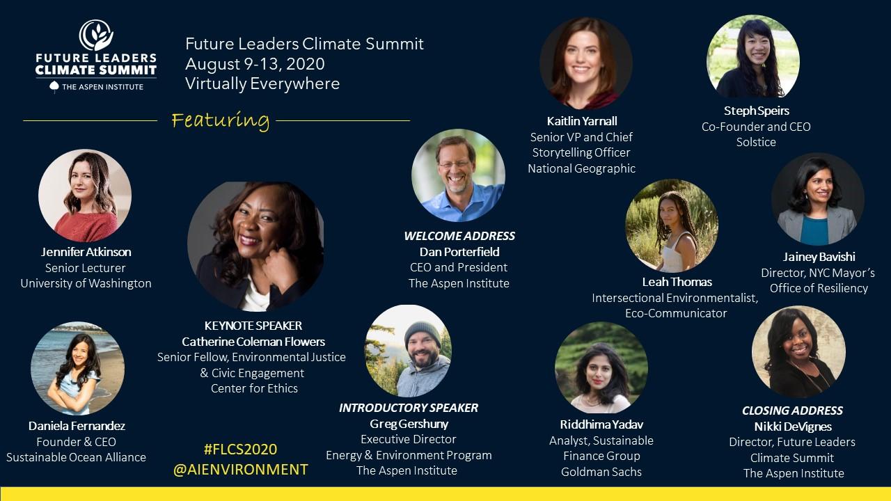Future Leaders Climate Summit 2020