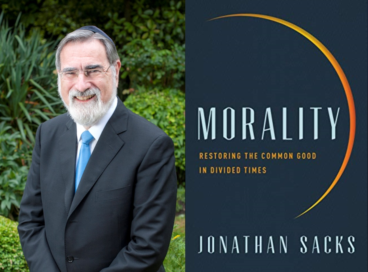 Book Talk with Rabbi Lord Jonathan Sacks