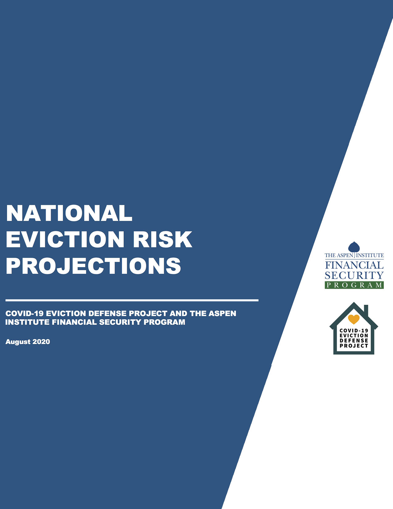 National Eviction Risk Projections