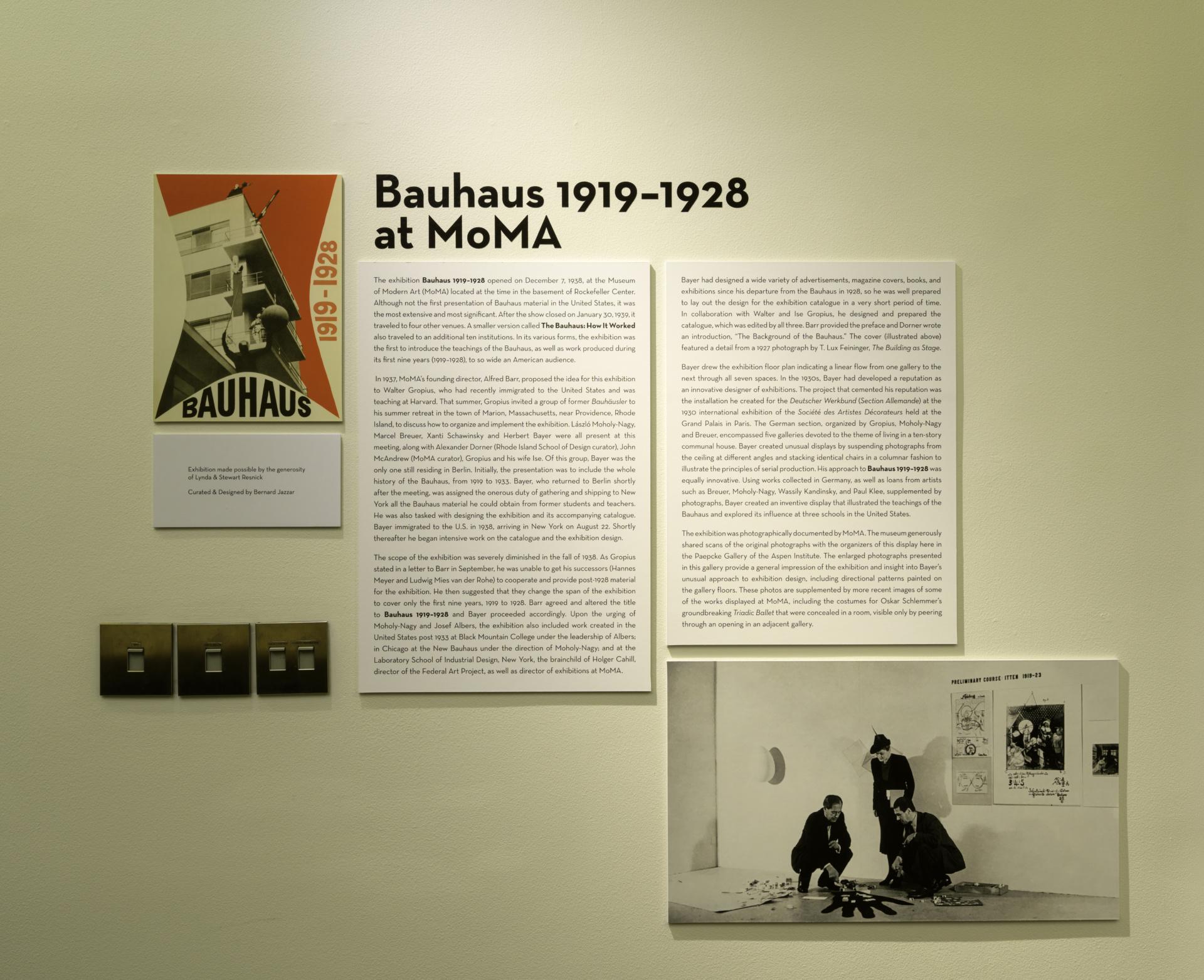 Bauhaus 1919-1928