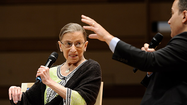 Justice Ruth Bader Ginsburg at the Aspen Ideas Festival