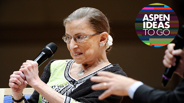 A Conversation with Ruth Bader Ginsburg (Rebroadcast)