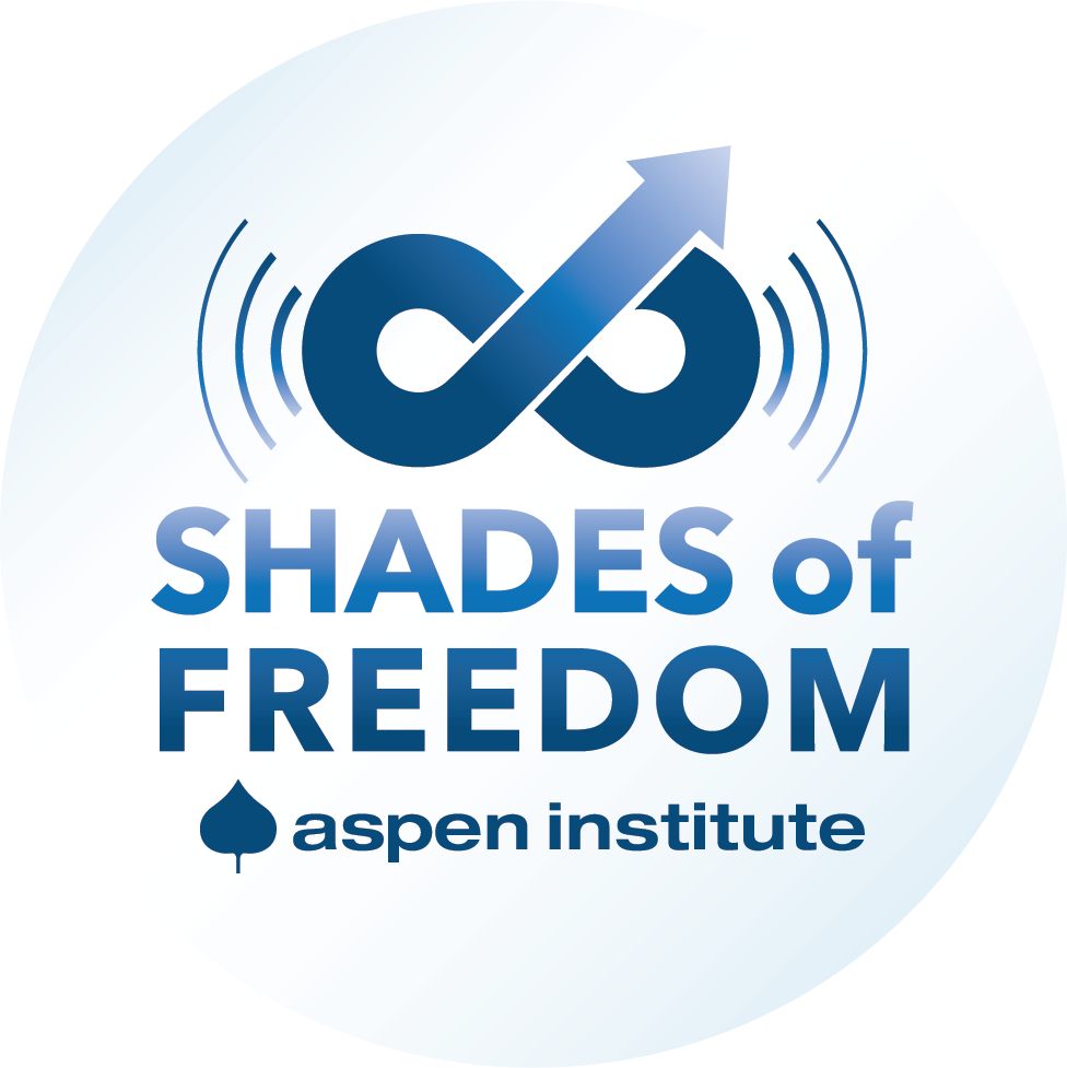 logo for Shades of Freedom podcast