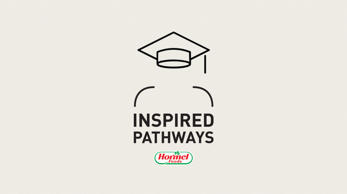 Logo for Hormel Foods' Inspired Pathways program