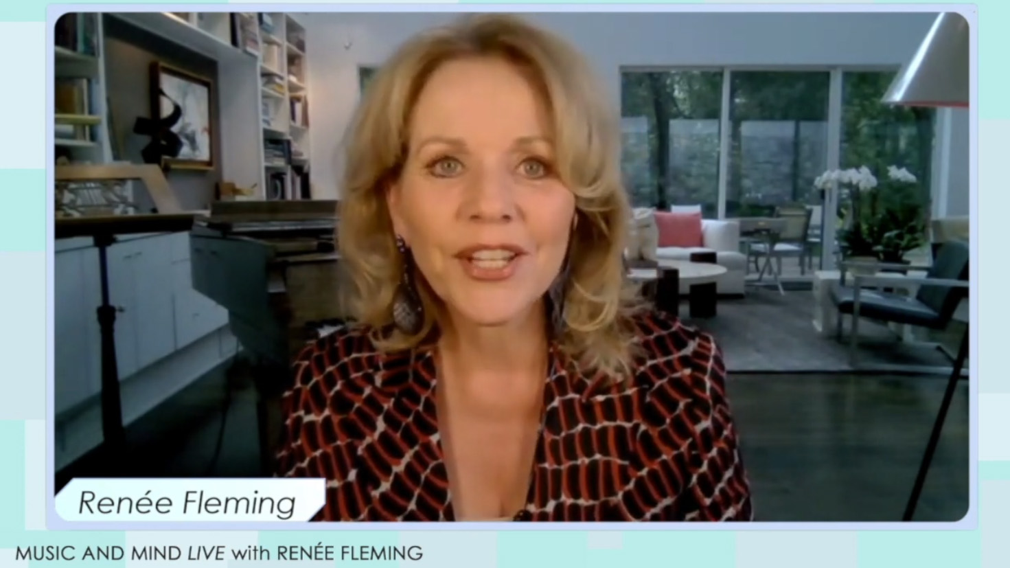 Music and Mind LIVE with Renée Fleming: NeuroArts Blueprint: A New Frontier