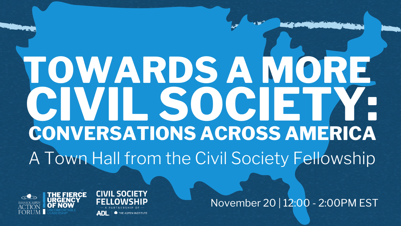 Towards a More Civil Society: Conversations Across America
