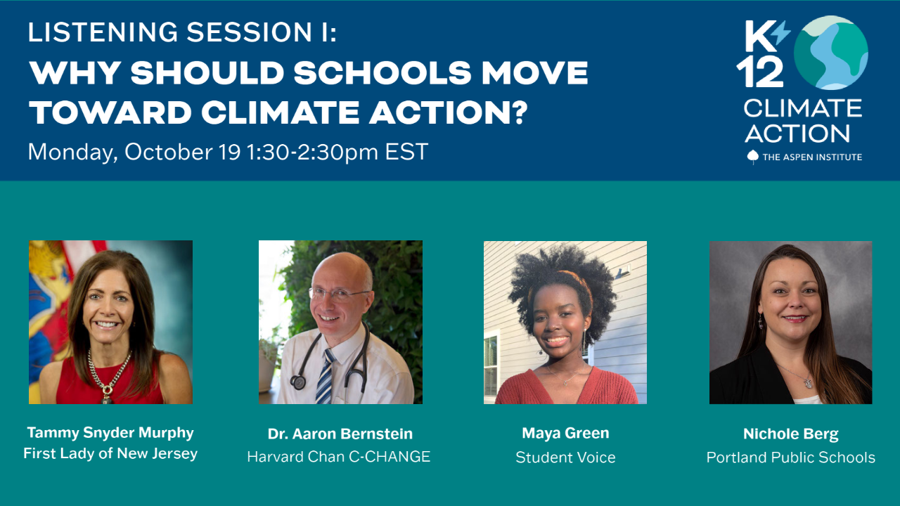 Why Should Schools Move Toward Climate Action?