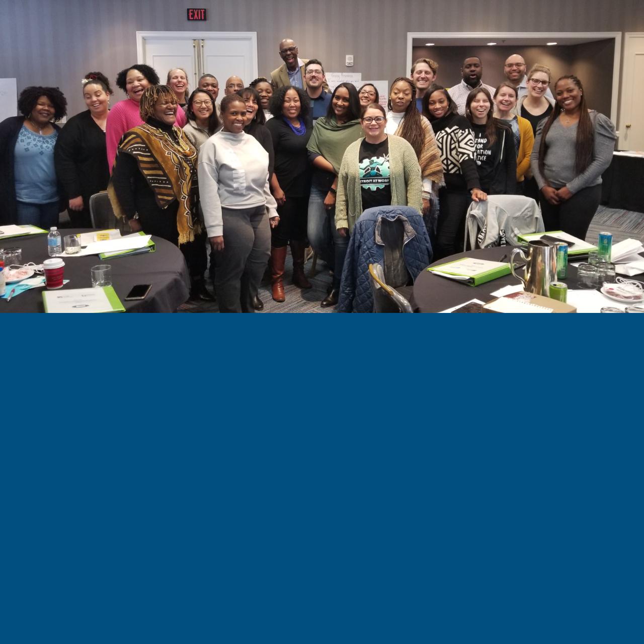 Members of the Detroit Workforce Leadership Academy