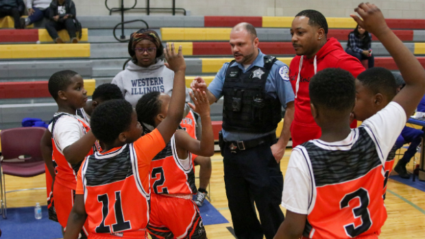 Can Cops as Coaches in Youth Sports Offer Healing?