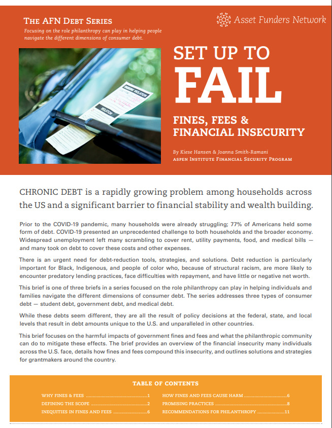 Set Up to Fail: Fines, Fees & Financial Insecurity