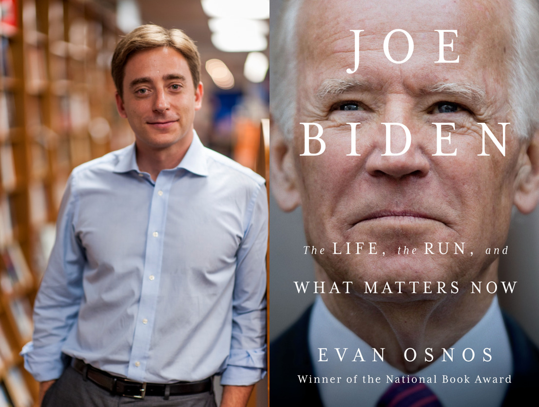 Gildenhorn Book Talk with Evan Osnos