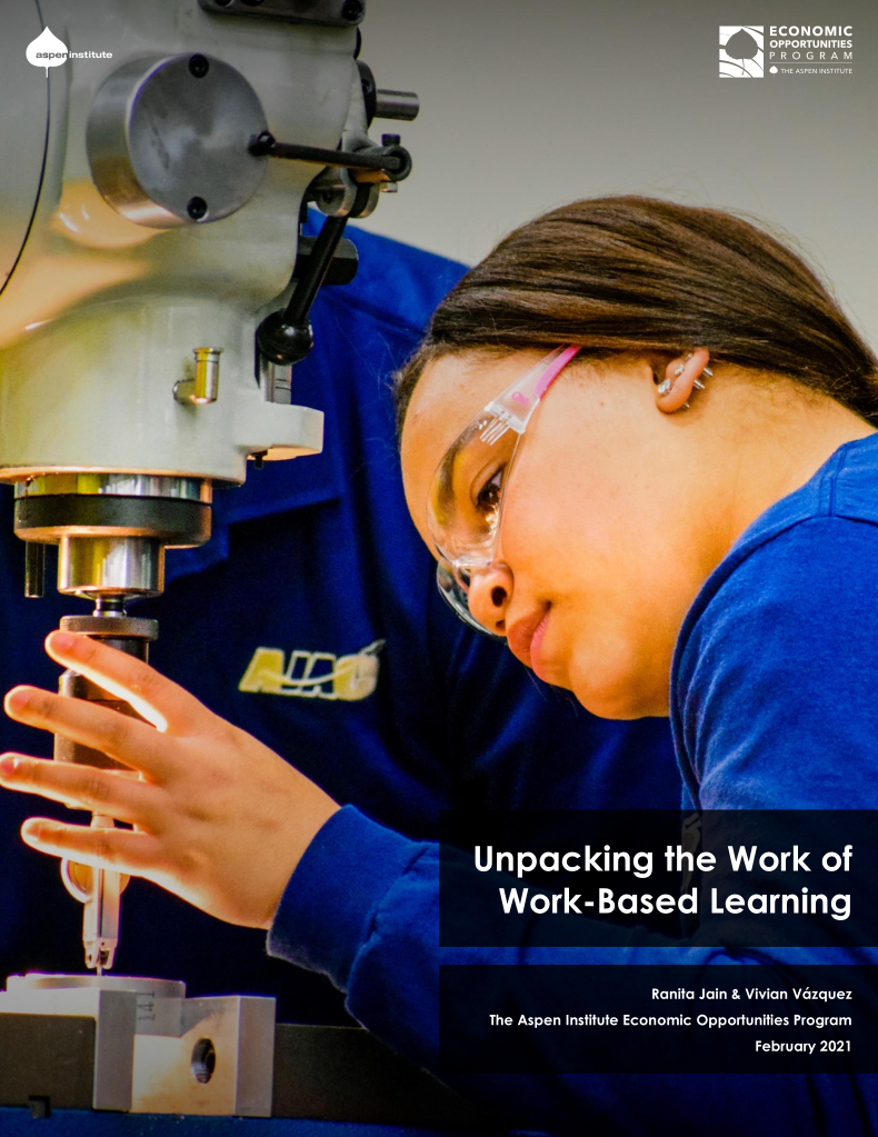 Unpacking the Work of Work-Based Learning
