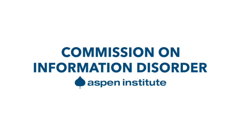 New Commission on Information Disorder