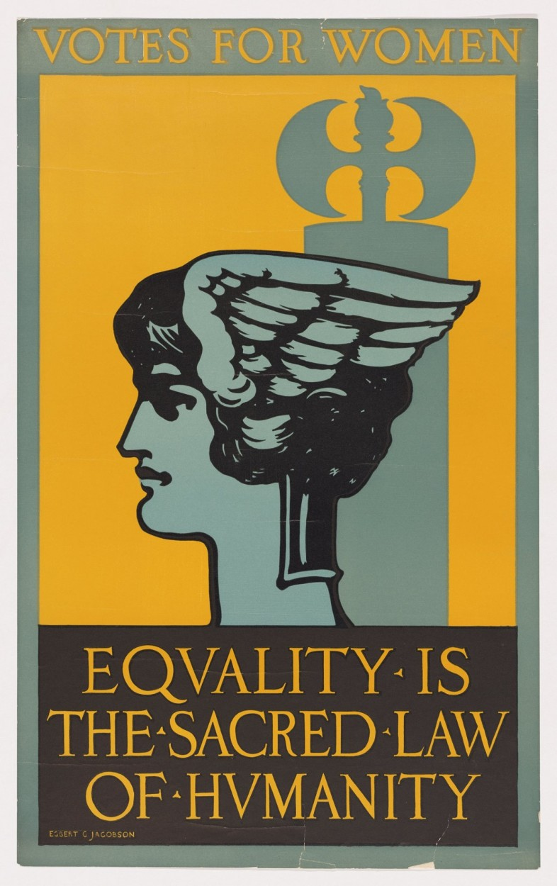 Equality is the Sacred Law of Humanity By Egbert Jacobsen