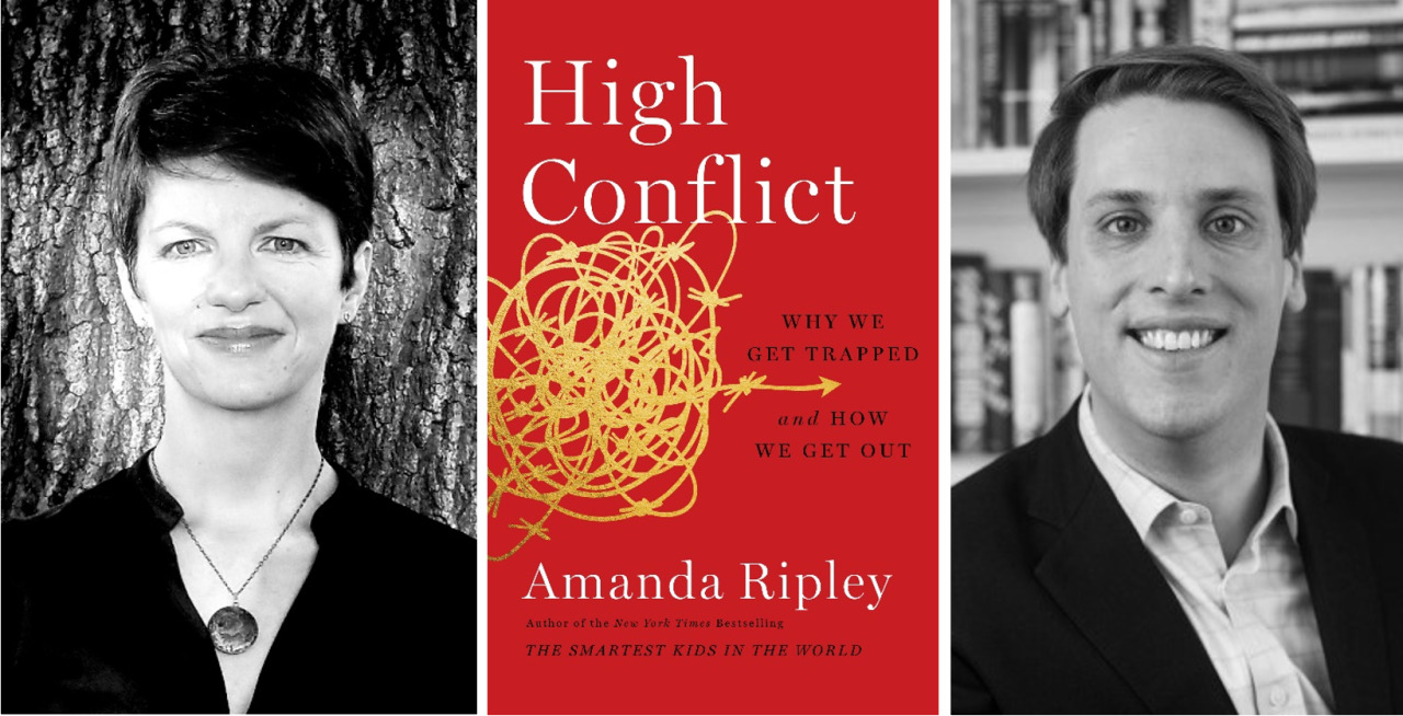 Alma and Joseph Gildenhorn Book Talk with Amanda Ripley and Garrett Graff