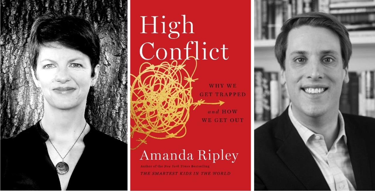 Alma and Joseph Gildenhorn Book Talk with Amanda Ripley and Garrett Graff