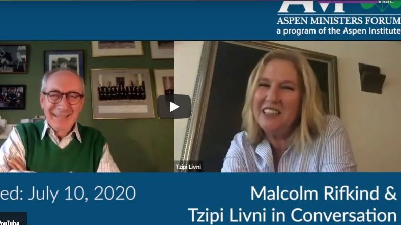 Tzipi Livni and Malcolm Rifkind in Conversation