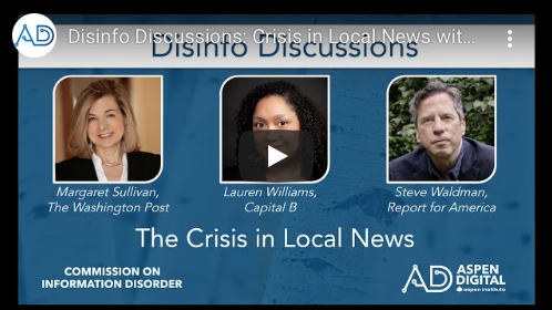 Crisis in Local News