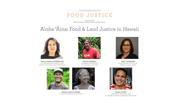 Food & Land Justice in Hawaii