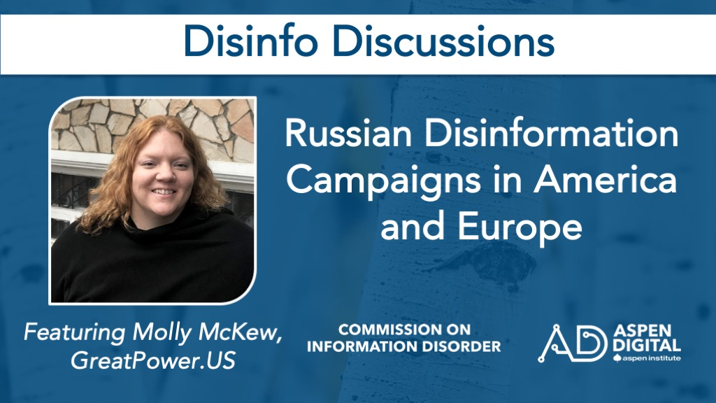 Europe, Russia and Disinformation