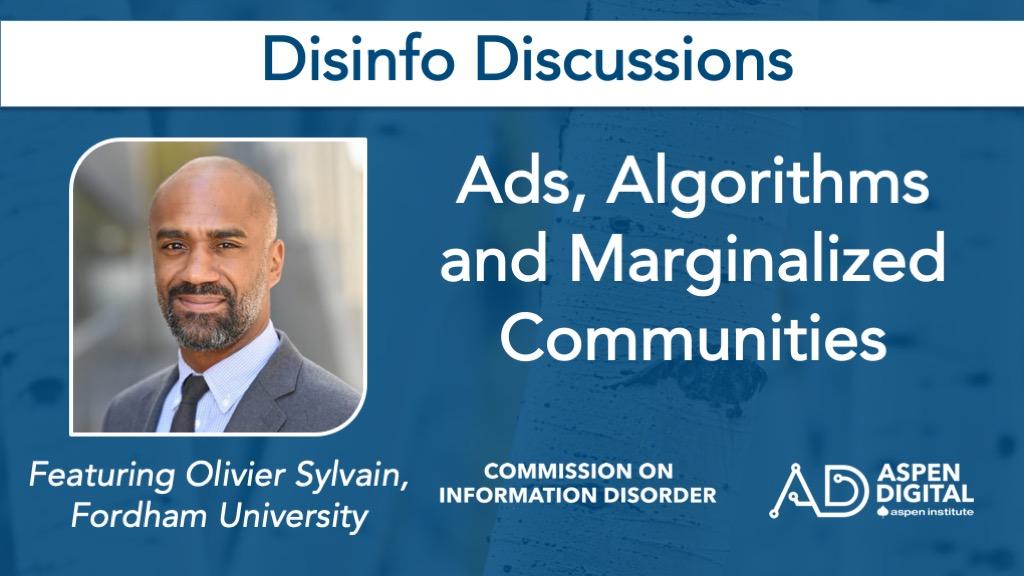 Ads, Algorithms and Marginalized Communities