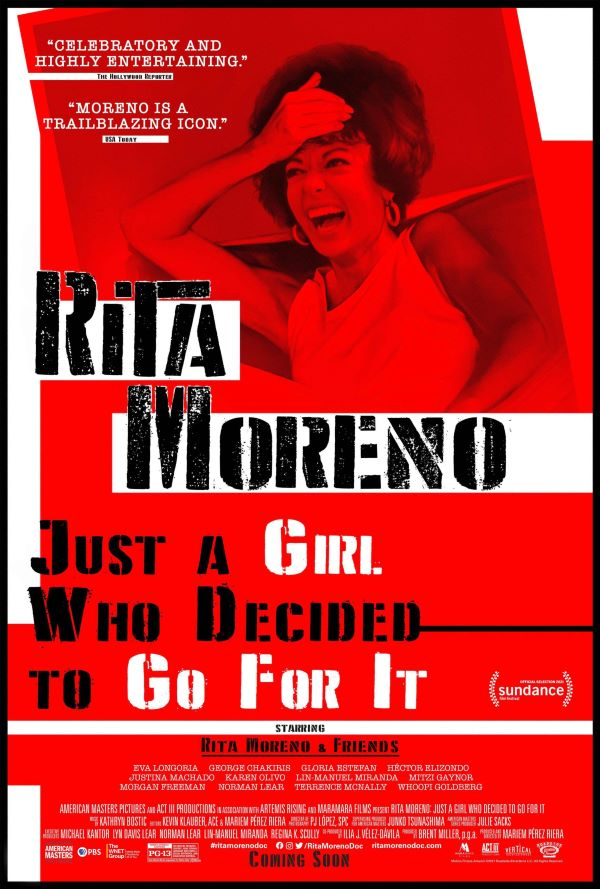 Eisner/Lauder New Views Documentaries and Dialogue Series: RITA MORENO: JUST A GIRL WHO DECIDED TO GO FOR IT