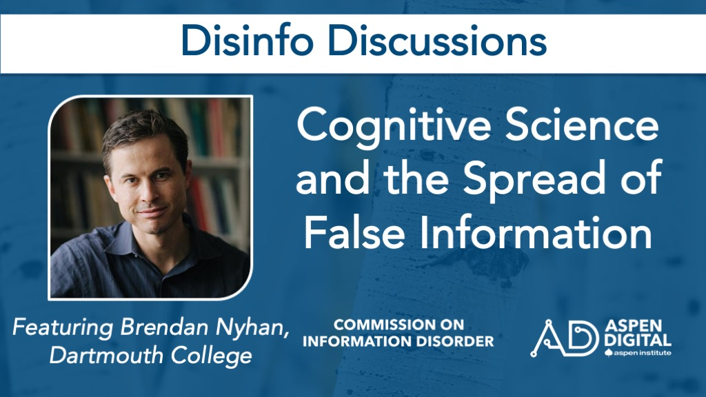 Cognitive Science on the Spread of False Information