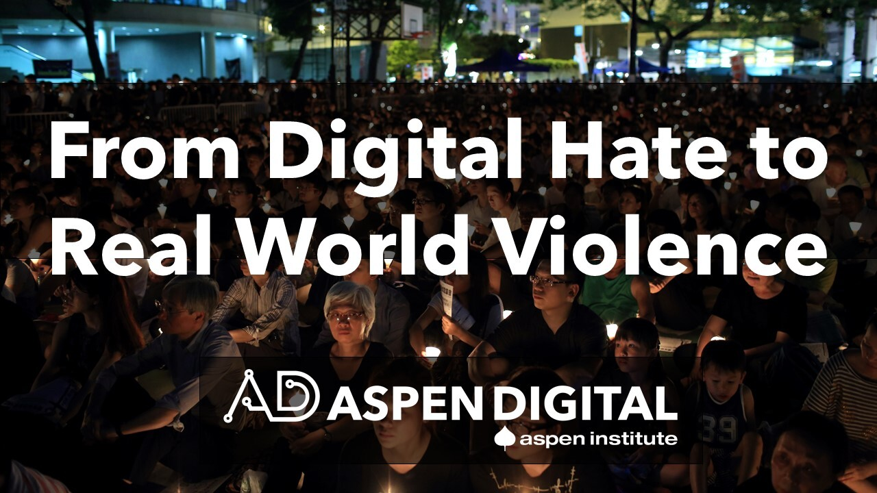 From Digital Hate to Real World Violence