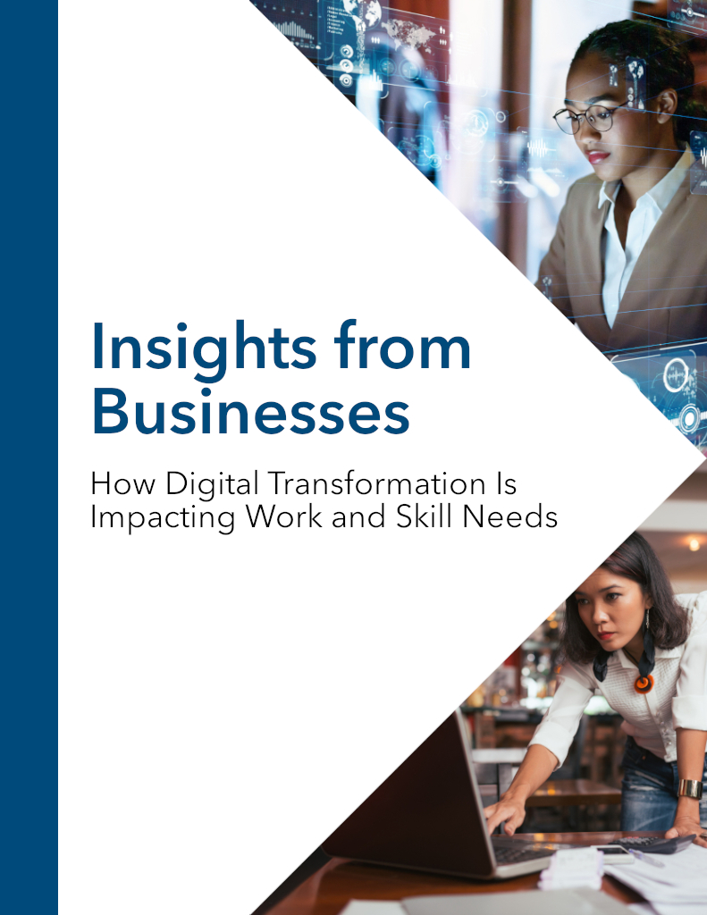 Report: Digital Transformation of Work and Skills