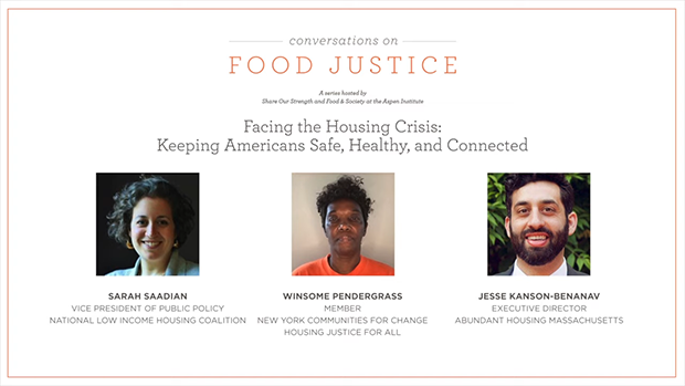 Facing the Housing Crisis: Keeping Americans Safe Healthy and Connected