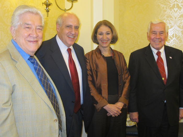 Clark, Glickman, Slaughter, and Lugar