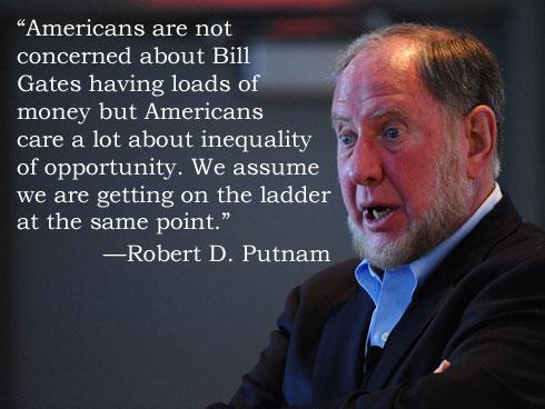 Robert Putnam on Inequality