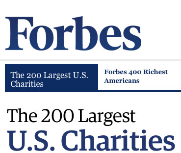 Forbes 200 largest charities