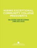 Hiring Exceptional Community College Presidents