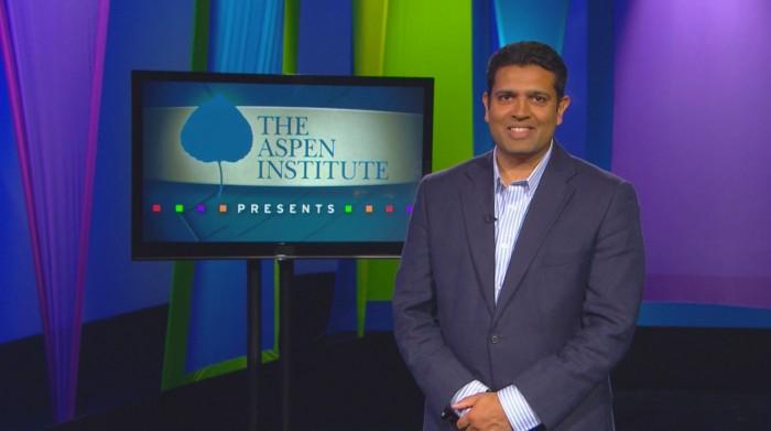 Hari Sreenivasan, host of Aspen Institute Presents