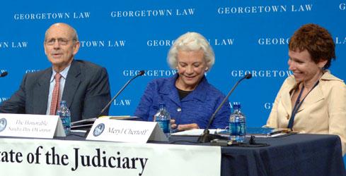 Justice Stephen Breyer, Justice Sandra Day O'Connor, Meryl Justin Chertoff