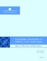 RCC Performance Management Report